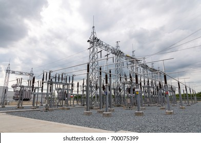 Electrical Substation and components