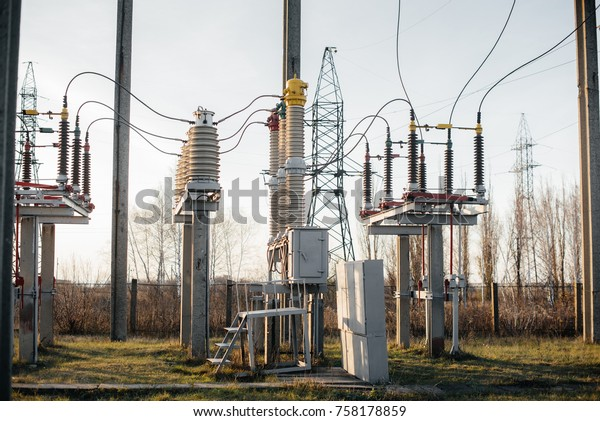 Electrical Substation Equipment Transformers Disconnectors