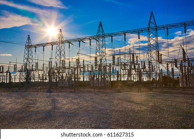 Electrical Substation Towers