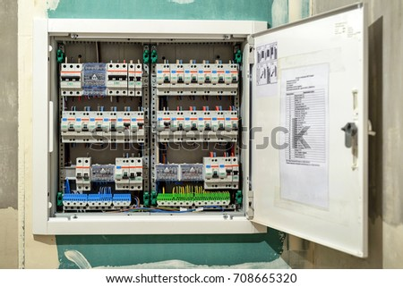 electrical switch box house large electric stock photo edit now rh shutterstock com