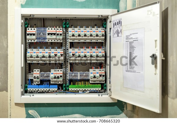 [DIAGRAM_1JK]  Electrical Switch Box House Large Electric Stock Photo (Edit Now) 708665320 | Large Fuse Box |  | Shutterstock