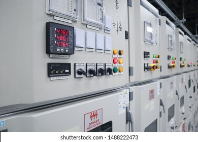 Electrical switch gear high Voltage motor control center cabinet in power plant,Breaker module,Electrical selector switch,button switch