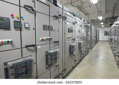 Electrical switchgear,Industrial electrical switch panel of power plant