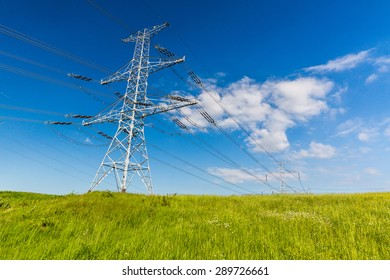 Electrical tower in Slovakia