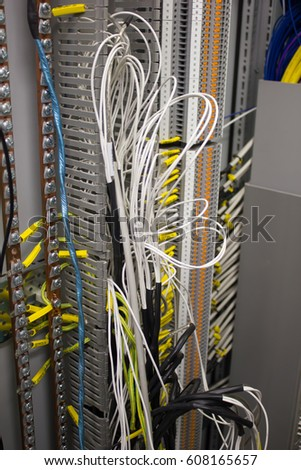 Electrical Wire Inside Electrical Panel During Stock Photo ... on wiring an electrical service panel, inside electrical plug, inside electrical controller, inside electrical box, inside electrical wire, inside electrical transformer,