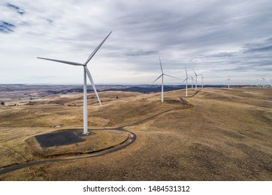 electricity generating wind farm, Australia