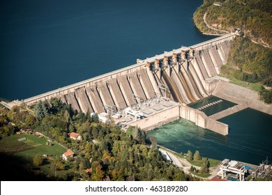 Electricity from hydropower plants