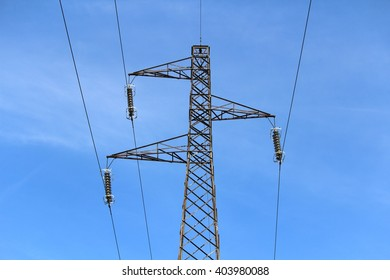 Electricity power line tower