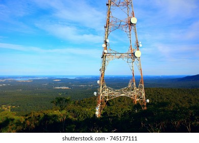 Electricity power radio communications television stanchion tower