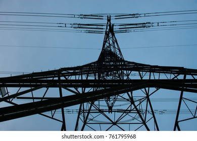 Electricity pylon in England