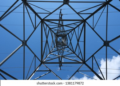 Electricity tower looking quiet awesome