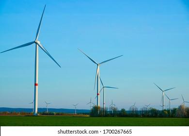 Electricity wind turbines, alternative of the future