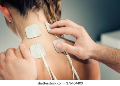 Electro stimulation in physical therapy