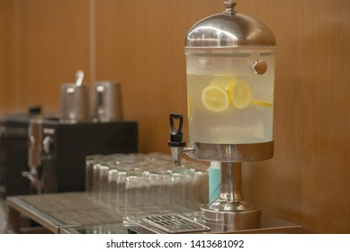 electrolyte water in glasses cooler