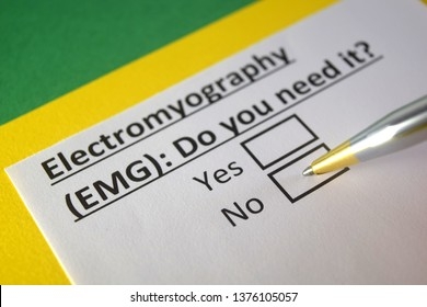 Electromyography(EMG) : Do you need it? yes or no