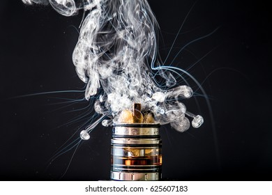 Electronic Cigarette vape explosion