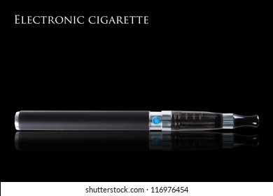 Electronic cigarettes isolated on white background