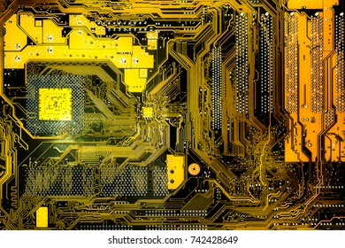 Electronic circuit boards, computer motherboard,texture