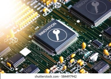 Electronic circuit board,Setup IC Innovation
