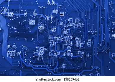 Electronic circuit inside a computer
