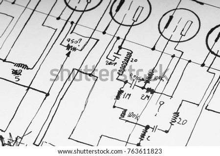 Electricity Circuit Diagram Nonstopfree Electronic Circuits Project