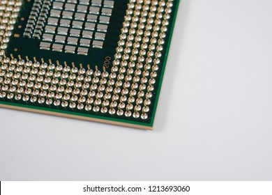 electronic component, PGA IC chip / chipset (Selected focus image)