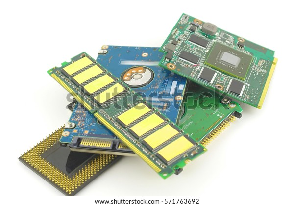 electronic-components-computer-over-whit