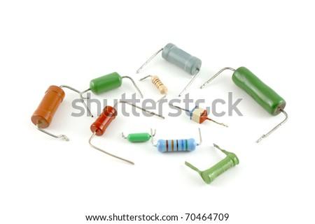 electronic-components-resistors-white-ba