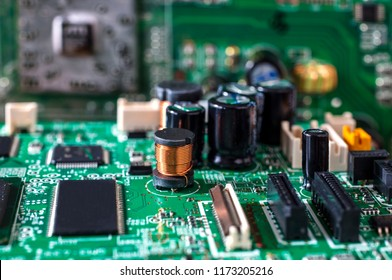 Electronic computer hardware technology. Motherboard digital chip. Tech science background. Integrated communication processor. Information engineering component.