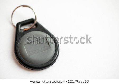 Electronic Door Entry Key Fob Bard Stock Photo Edit Now 1217953363