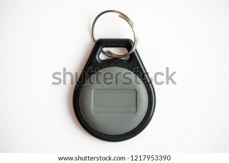 Electronic Door Entry Key Fob Bard Stock Photo Edit Now 1217953390
