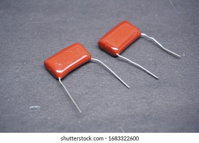 Electronic equipment known as Milar Capacitors or Polyester Capacitors. This capacitor has a high voltage resistance with a relatively small size.