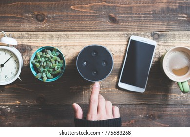 Electronic equipment smart speaker