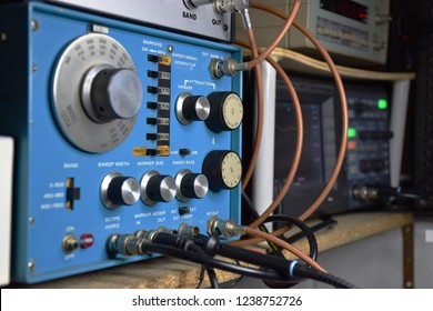 electronic hobby laboratory of an amateur radio operator