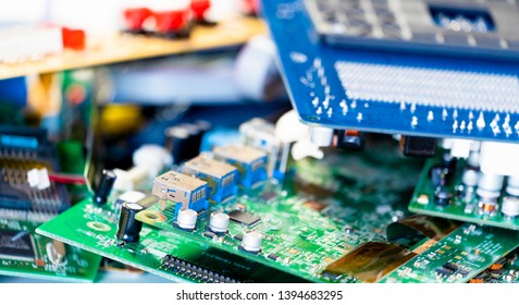 Electronic industry devices waste  recycling