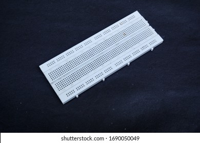 Electronic laboratory equipment known as Breadboard. Breadboard is a board that is used for the purpose of testing or prototyping electronic circuits without having to solder.