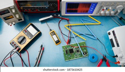 electronic measuring instruments high quality photo