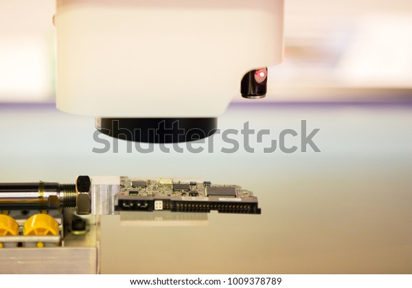 Electronic Part Machine Vision Inspection Semiconductor