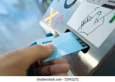 Electronic pass