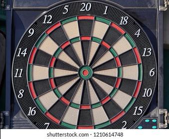 Electronic plastic darts target pub sport game