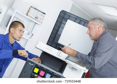 electronic and printer technician