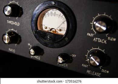 electronic recording studio