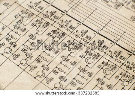 electronic schematic diagram retro television macro stock photo toshiba tv schematic diagrams electronic schematic diagram of retro television macro