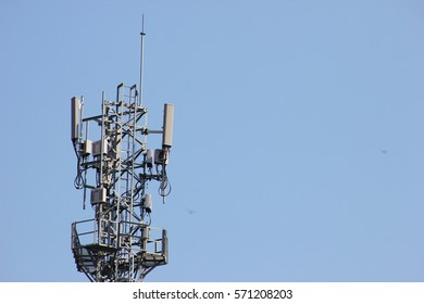 Electronic transmission towers