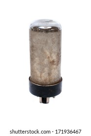 Electronic vacuum  lamp for radio