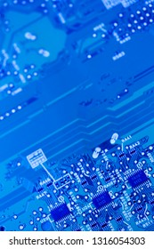 Electronics circuit board digital background