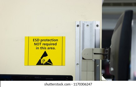 Electrostatic discharge protection not require in this area.
