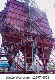 An electrostatic precipitator (ESP) is a filtration device that removes fine particles. During construction.