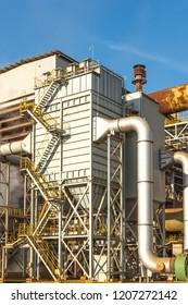 electrostatic precipitator(ESP) equipment in iron & steel factory