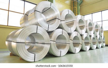Electrotechnical aluminum rods